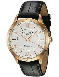 Nivada NP16065MDOBR Reloj Cuarzo Análogo, color Blanco/Negro