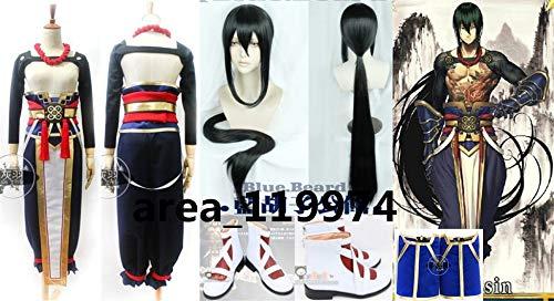 Fate/Grand Order Order 燕青 コスプレ 衣装ウィッグ 靴 B07JZNKNK9 全セット 靴 B07JZNKNK9, ハクサンチョウ:21e1e41d --- ferraridentalclinic.com.lb
