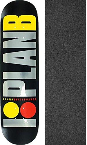 "Plan B Skateboard Complete Pudwill Open Seas 7.7/"" Black trucks ASSEMBLED"