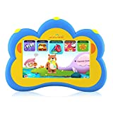 Kids Tablet, B.B.PAW 7'' Eye-protection Whole Brain Education Gifts Tablet for Kids 2 to 6 Years Old with 90+ Preloaded Learning and Training Apps-Sky Blue