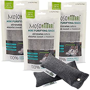 Amazon Com Moso Natural Mini Air Purifying Bag Shoe