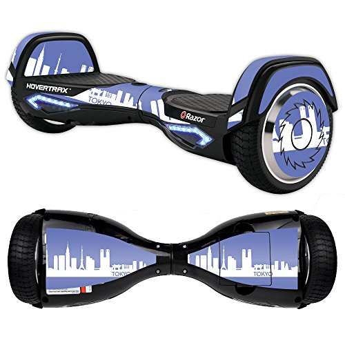 Guardian Scooter Cover (MightySkins Skin For Razor Hovertrax 2.0 Hover Board – Tokyo   Protective, Durable, and Unique Vinyl Decal wrap cover   Easy To Apply, Remove, and Change Styles   Made in the USA)