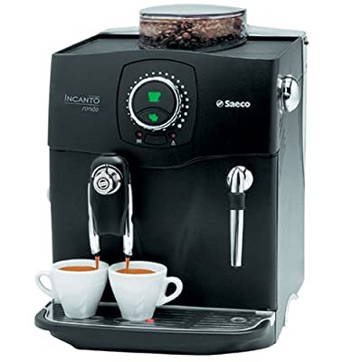 Saeco A-IR-Bk Incanto Rondo RS SBS Fully Automatic Espresso Machine, Black