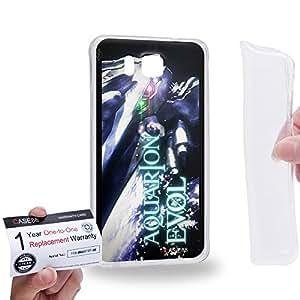 Case88 [Samsung Galaxy Alpha] Gel TPU Carcasa/Funda & Tarjeta de garantía - Aquarion Evol Solar Aquarion Ancient Aquarion 1650