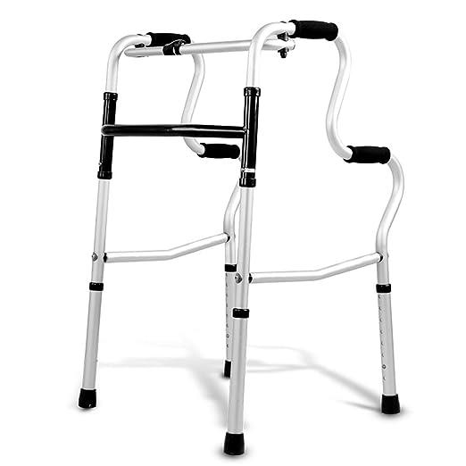 Andadores Chunlan Bastidor Plegable para Caminar, Aluminio Ligero ...