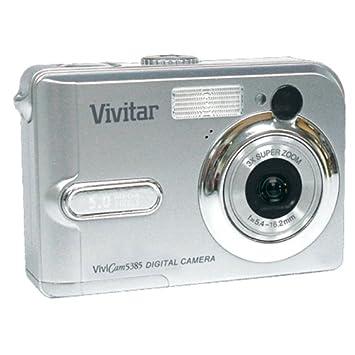 Pdf manual for vivitar digital camera vivicam 5385.