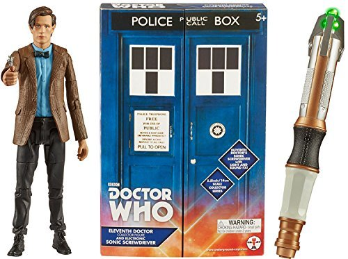 Doctor Who 11th Doctor and Electronic Sonic Screwdriver Toy ()