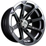 used 14 inch atv rims - MotoSport Alloys M12 Diesel Gloss Black ATV Wheel UTV Wheel (14x7
