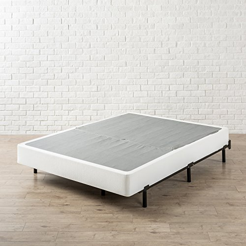 zinus compack 7 inch heavy duty bed frame for box spring mattress sets. Black Bedroom Furniture Sets. Home Design Ideas