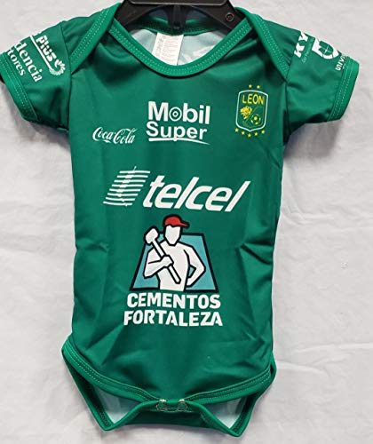 New! Infant Toddler Club Deportivo Leon Generic Jersey Size M(5-9 Months)