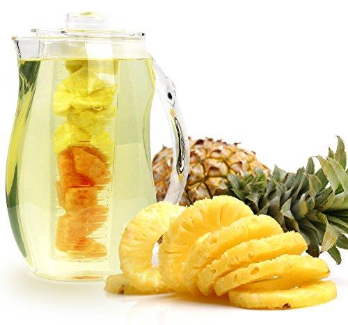 Estilo Acrylic Fruit Infusion Pitcher with Ice Core 2 Liter (72 oz/2.1 quart) by Estilo (Image #6)
