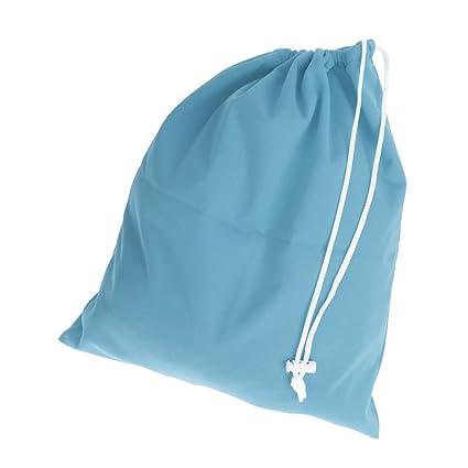 Bolsa De Pañales Para Bebés A Prueba De Agua Bolsa Reutilizable Lazo De Cierre Del Pañal Bolsas - Azul, un tamaño
