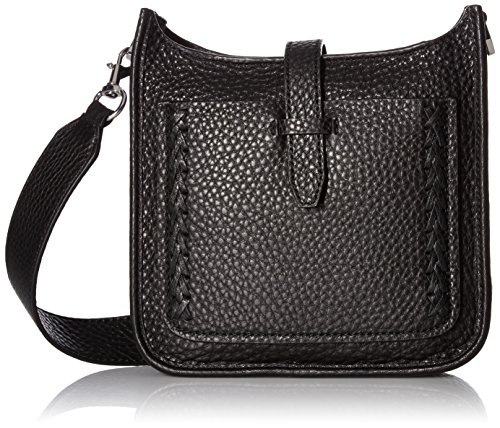 Rebecca Minkoff Mini Unlined Feed Bag with Whipstich, Black