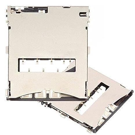 BisLinks – Soporte Lector Tarjeta Sim Ranura Reparación para Sony Xperia Z C6603 L36h