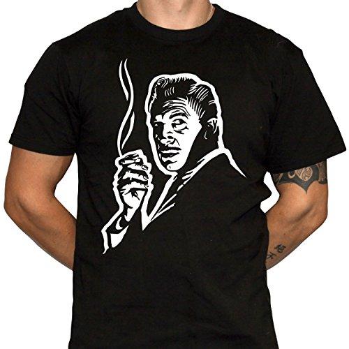 - Dark Vortex Vincent Price Tshirt - Mysterious Vincent Price Illustration - Horror Movie Tshirt (Large)