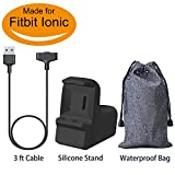 for Fitbit Ionic Charging Cable with Stand, BRG Replacement...