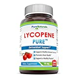 Pure Naturals lycopene Softgels, 10 mg, 240 Count