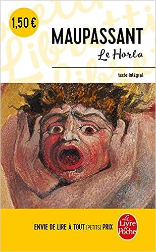 Le Horla Le Livre De Poche French Edition Guy De
