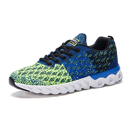 Running Shoes for Men Mens Sneakers Fashion Sports Outdoor Athletic Shoes Trainer Shoe Blue