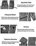 Men's Waterproof Hooded Rain Jacket Windbreaker