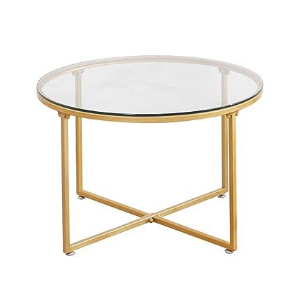 Tavolini Da Salotto In Vetro Moderni.Tavolino Rotondo Moderno Da Salotto Cerchio Tavolino Da