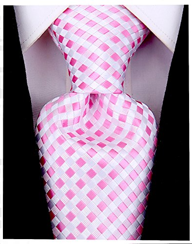 Checkerboard Ties for Men - Woven Necktie - ()