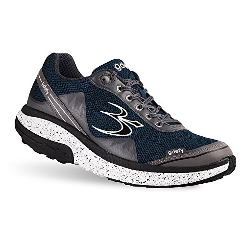 Pain Fasciitis Shoes Gray Heel Men's Pain and G Proven Relief Pain Blue for Gravity Plantar Defy Foot Mighty Defyer Best Walk RqwUO7Iv