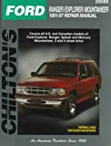 Ford Explorer-Ranger, 1991-1998, Chilton Automotive Editorial Staff, 080198968X