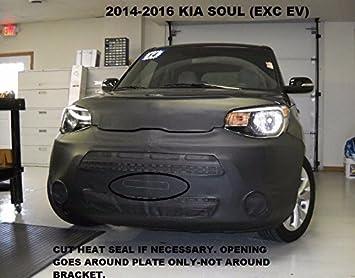 Fits Car Mask Bra 2013-2015 Toyota RAV 4 Except EV model Lebra 2 piece Front End Cover Black