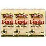 Linda - Italian Laundry Soap -  (3 Pack - 6.5 Ounce Bars)
