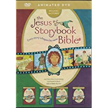 The Jesus Storybook Bible Animated DVD Complete Set 4 Volumes on 1 Disc by: Sally Lloyd-Jones