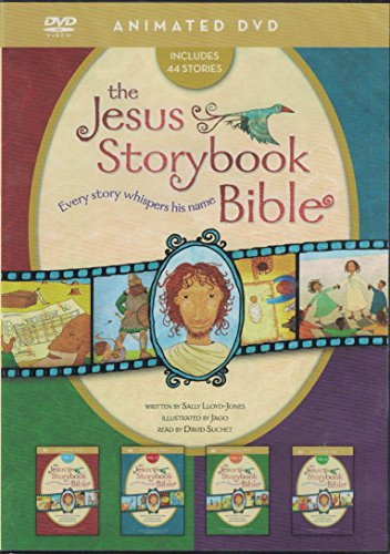 The Jesus Storybook Bible Animated DVD Complete Set 4 Volumes on 1 Disc by: Sally Lloyd-Jones (Zonderkids)