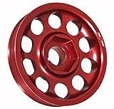Light Weight Aluminum Crank Shaft Engine Pulley Red For K-Series K20 K24 DOHC Vtec Engines