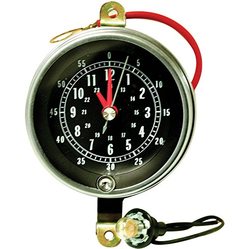 Eckler's Premier Quality Products 50207909 Chevelle Clock For Center Console