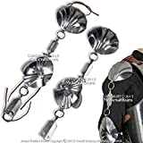 Medieval Gears Brand Jack Chain Armor Shoulder Elbow Steel Protector 18G Medieval Renaissance LARP