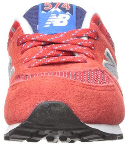 New Balance KL574 Summit Running Shoe (Infant/Toddler) Red/Blue