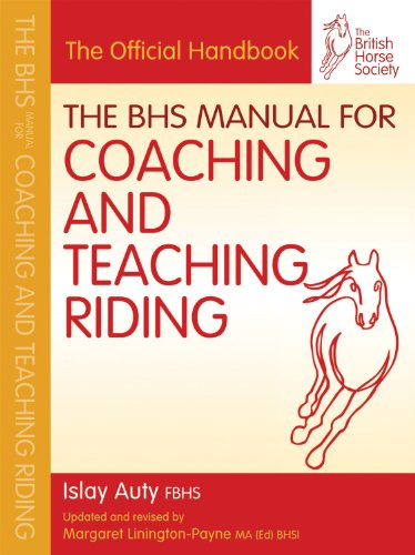 The BHS Manual for Coaching and Teaching Riding (British Horse Society) (Manual Del Coaching)