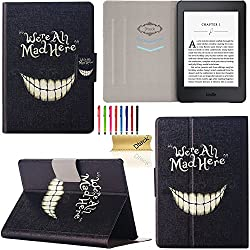 """Kindle Paperwhite Case, Dteck(TM) Ultra Thin Perfect Fit with [Magnetic Auto Sleep/Wake Function] Shell Stand Case Cover for Amazon Kindle Paperwhite eReader (with 6"""" Display Built-in Light) (We Are All Mad)"""