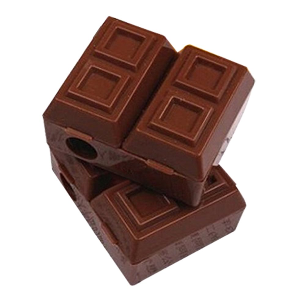 Leisial 1 pz 2 in 1 Chocolate design temperamatite + gomma da cancellare cancelleria Kawaii ABS meccanica temperamatite per bambini ragazze ragazzi ufficio scuola, ABS, Coffee, taglia unica 13LPOSGU05DU7GJ5ZF188