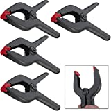 Online Best Service 4 Pack 9 Inch Heavy Duty Plastic Nylon Spring Clamp EXTRA LARGE Clip Tips For Photography Background Plate