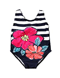 Annvivi Kids Baby Girls Various Styles Swimsuits Bathing Suits