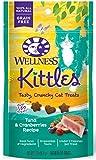 Wellness Kittles Crunchy Natural Grain Free Cat Treats - Tuna & Cranberries - 2-Ounce Bag