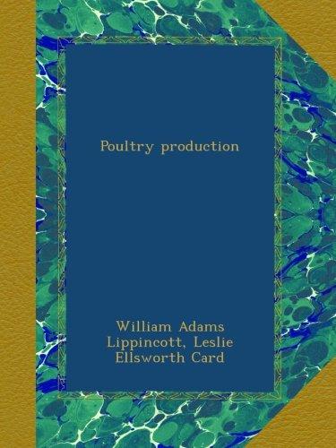 Poultry production pdf epub