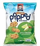 quaker popped cheese - Quaker Popped Rice Crisps Snacks Apple Cinnamon 7.04oz Bag (Pack of 4)