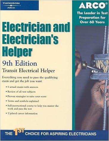 Electrician & Electricians Helper 9E (ARCO CIVIL SERVICE ...