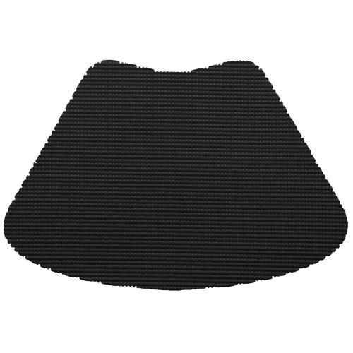 Kraftware 31139 Fishnet Placemat Dz., Wedge, Black