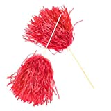 Red Spirit PomPoms (2 dz)