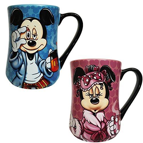 Disney parques exclusivo Mickey algunas mañanas vean rudas y que sean Minnie Mouse mañanas no son bonita 2 piezas Juego de...