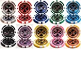 Ultimate Poker Laser Clay 14g 500 Bulk Poker Chips - Choose