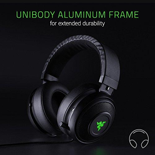 Razer Kraken 7.1 V2: 7.1 Surround Sound - Retractable Noise-Cancelling...